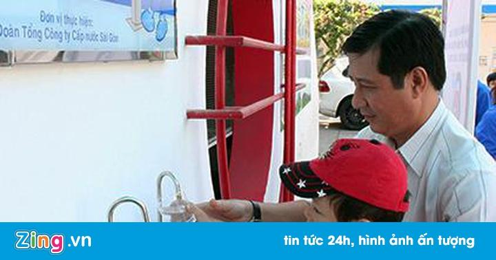 Nghe VietNamNet: Tăng giá nước sạch tại TP.HCM từ hôm nay