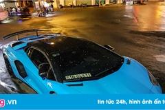 Ngắm màu áo mới của Aventador SV duy nhất tại Việt Nam sau khi rời Minh Nhựa