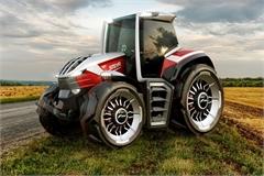 Concept xe máy cày dùng động cơ hybrid