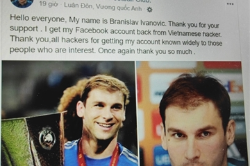 Người giữ Facebook của Ivanovic tung tin giả, tiếp tục lừa bịp