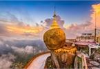 Ngôi chùa trên hòn đá dát vàng chênh vênh suốt 2.500 năm