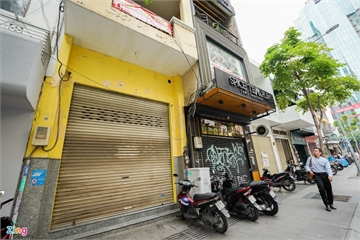 TP.HCM: Hàng quán trên phố đi bộ đóng cửa do giá thuê mặt bằng quá cao