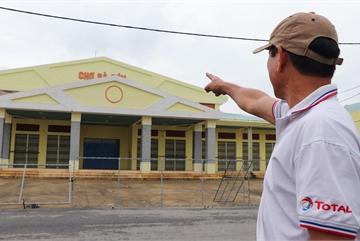 Chợ 60 tỷ xây gần xong rồi bỏ hoang