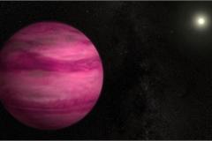 Phát hiện hành tinh màu hồng