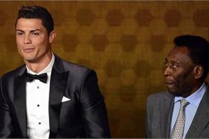 Pelé chỉnh sửa Instagram vì Cristiano Ronaldo