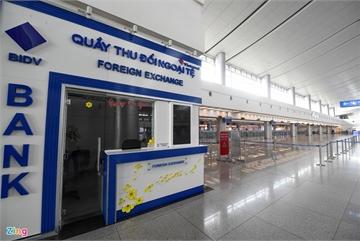 Ga hàng không quốc tế Tân Sơn Nhất không bóng người