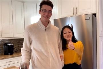 Con gái MC Kỳ Duyên gây chú ý khi xuất hiện bên bạn trai 1,92 m