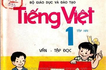 Sách Tiếng Việt lớp 1 của năm 1996