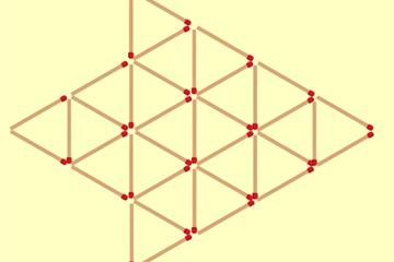 Bài toán đếm số tam giác khiến người giải bối rối