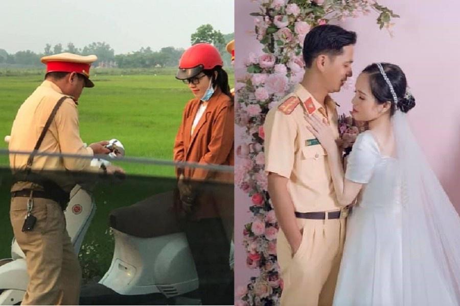 Cô gái Quảng Trị cưới anh cảnh sát sau lần bị bắt lỗi giao thông