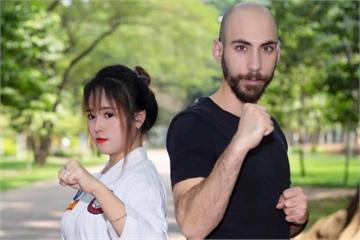 Nàng Việt, chàng Mỹ nên duyên nhờ cùng đam mê võ thuật