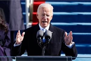 Dòng tweet đầu tiên của ông Joe Biden khi làm tổng thống Mỹ