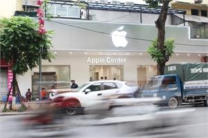 Cửa hàng nhái Apple Store ở Hà Nội sẽ phải gỡ logo Táo khuyết?