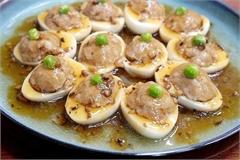 Cách làm trứng nhồi thịt đơn giản, ngon cơm