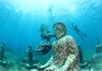 Những tượng Phật dưới đáy biển ở Bali