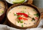 Cách làm canh gà cốt dừa chuẩn vị Thái