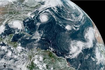 WMO sắp hết tên để đặt cho bão năm 2020