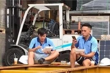 Tài tử TVB Trần Quốc Phong và Mạc Gia Kiềm làm công nhân bốc vác