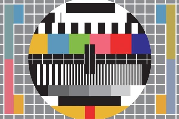 Ý nghĩa của màn hình đa sắc trên sóng truyền hình trước đây