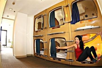 'Khách sạn làm việc' công nghệ cao tại Nhật