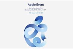 Apple thông báo sự kiện ra mắt sản phẩm mới ngày 15/9