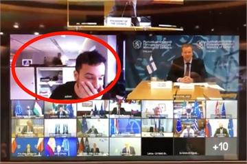 Phóng viên 'hack' cuộc họp bí mật của EU