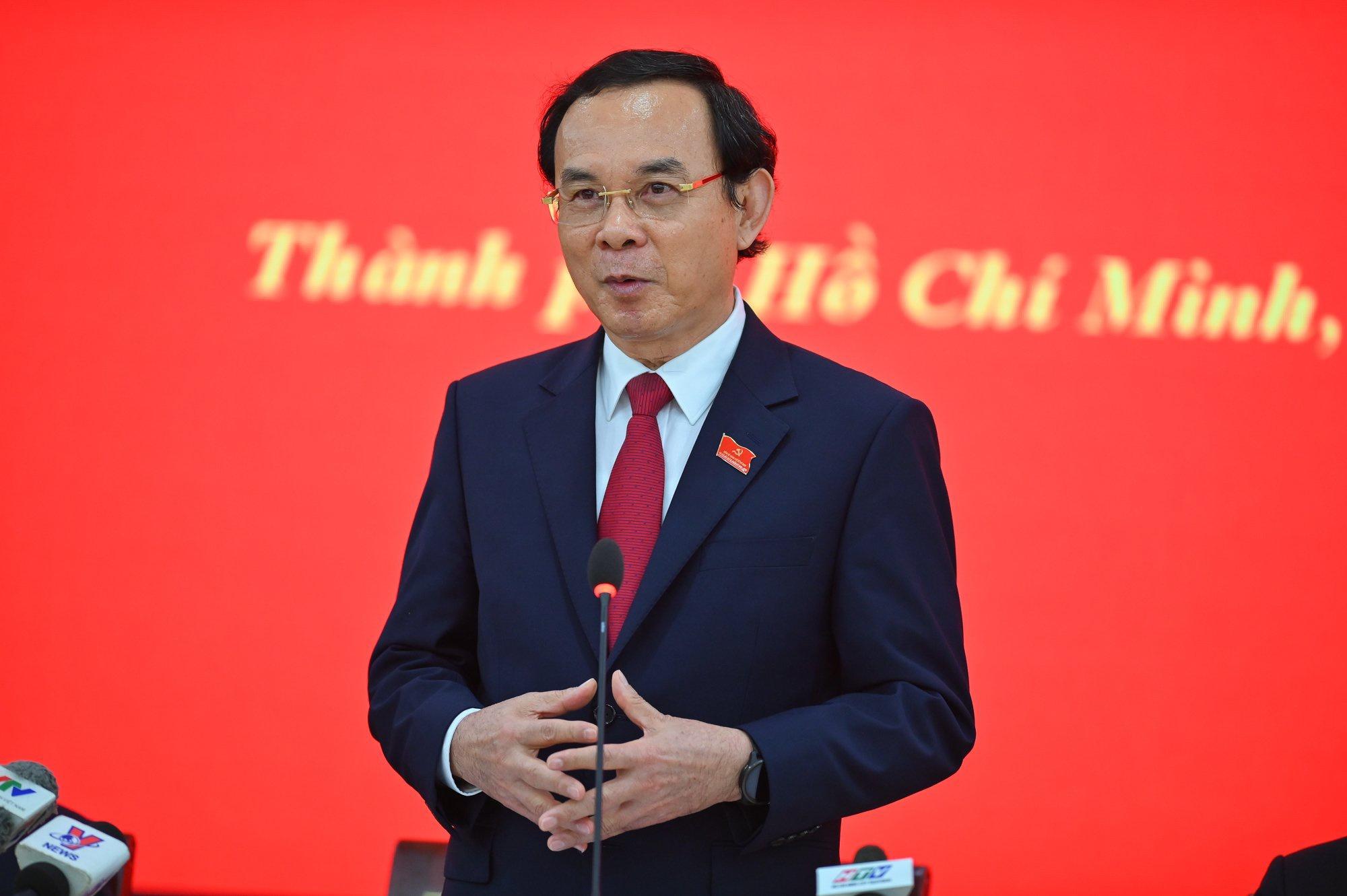 Bi thu Thanh uy TP.HCM Nguyen Van Nen anh 1