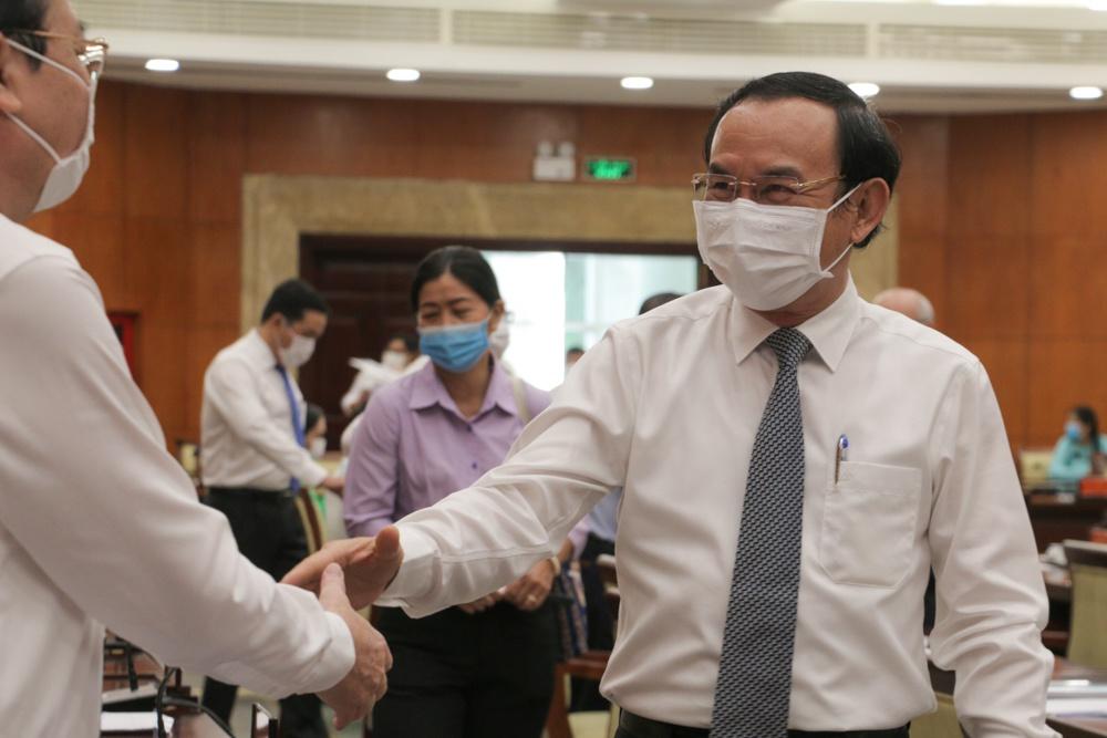 Bi thu Thanh uy TP.HCM Nguyen Van Nen anh 2