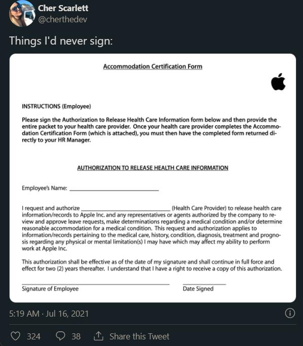Nhan vien Apple doi nghi viec anh 2