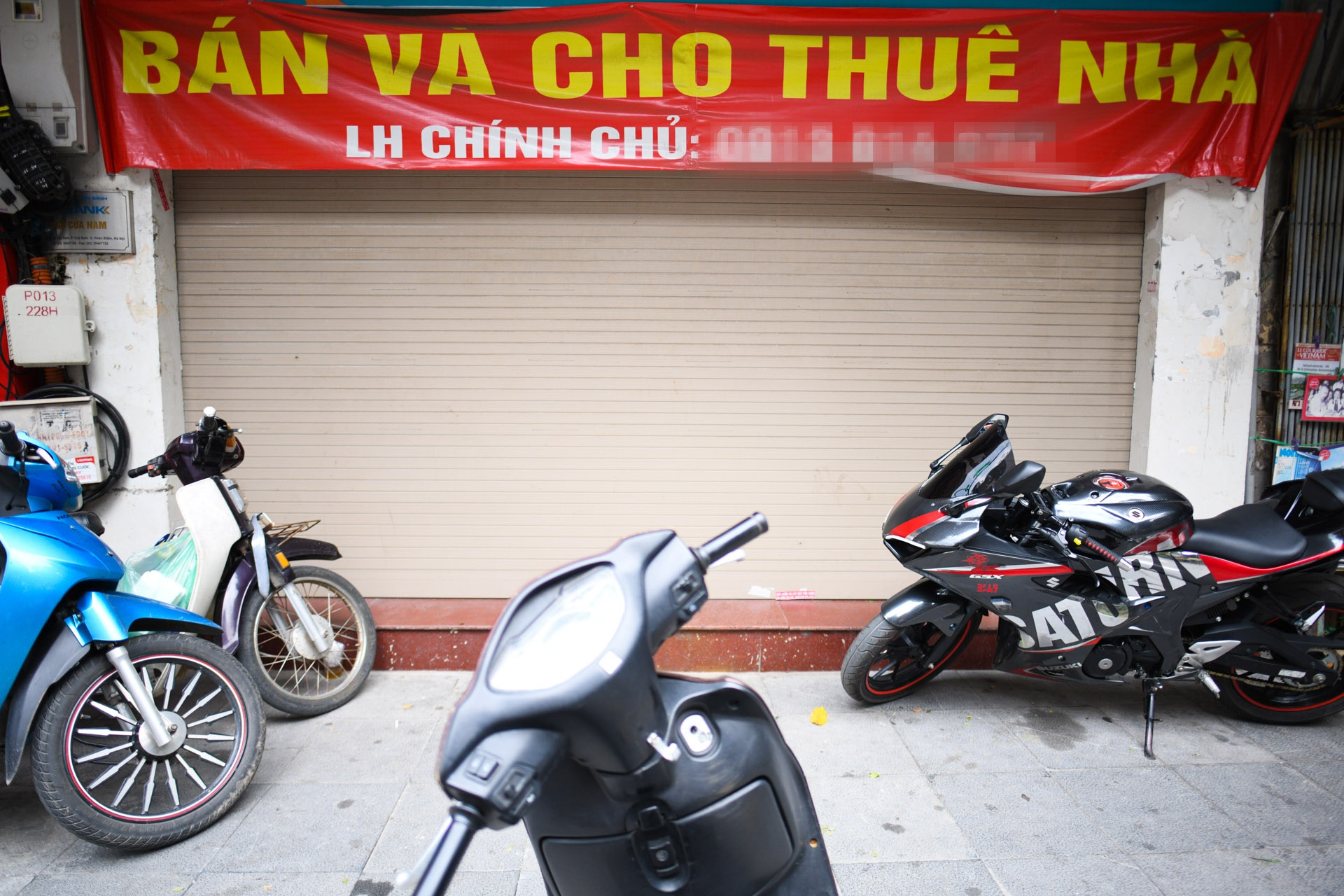 Cho thue nha Ha Noi, mat bang pho co anh 5