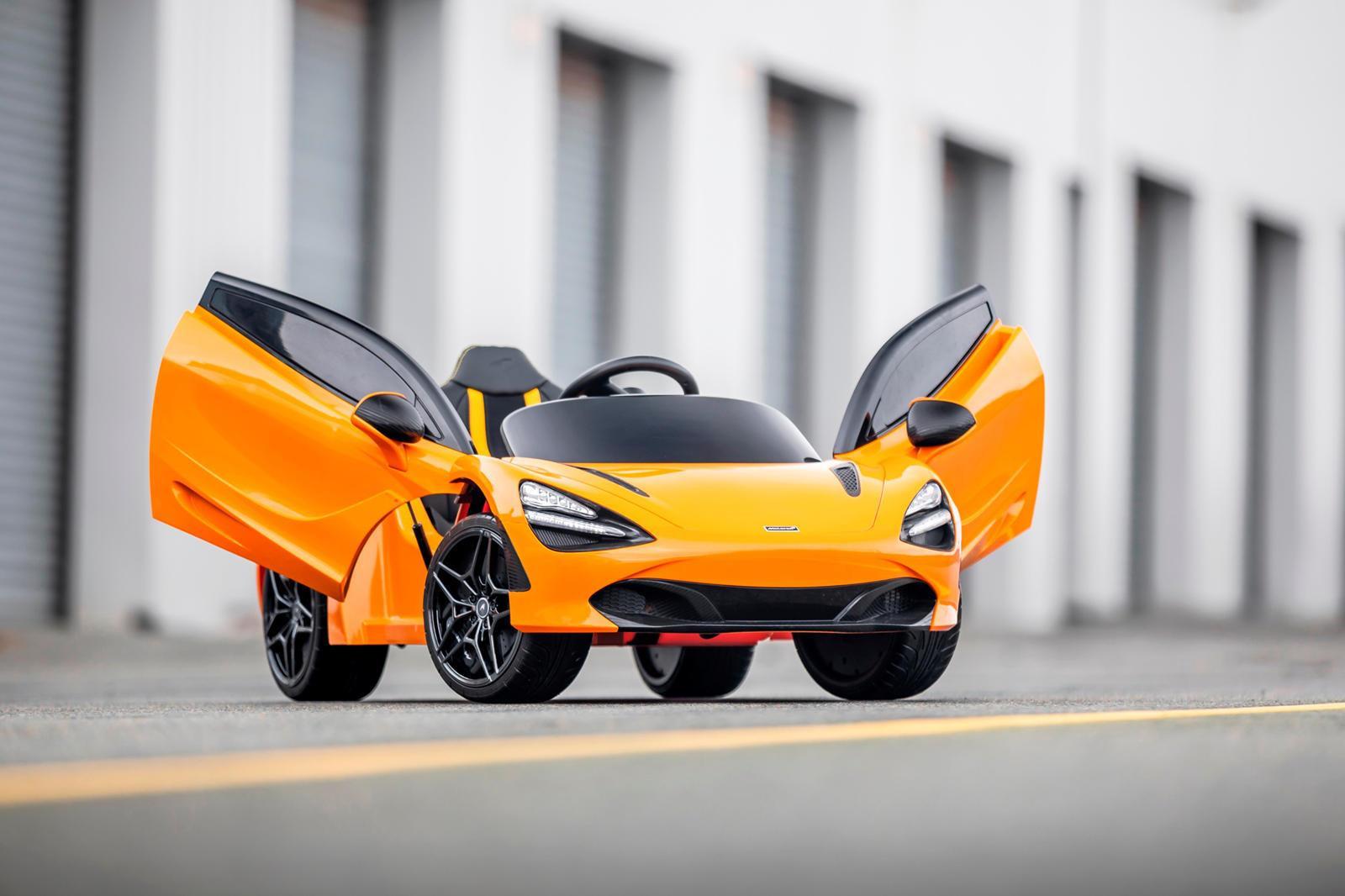 McLaren 720S phien ban mini danh cho tre em, gia 8.000 USD hinh anh 4