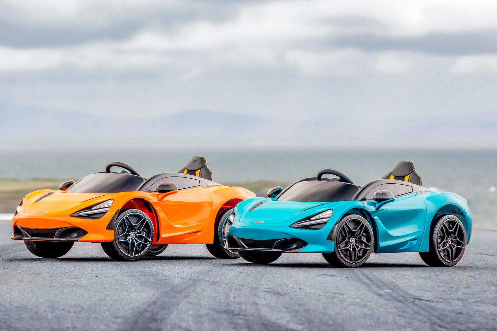 McLaren 720S phien ban mini danh cho tre em, gia 8.000 USD hinh anh 5