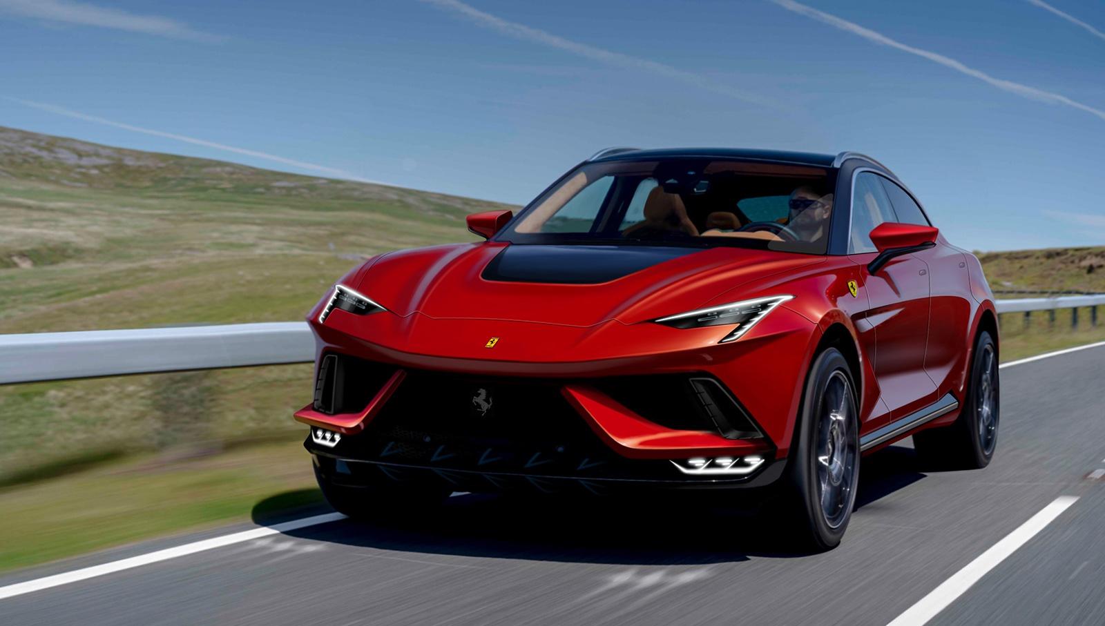Sieu SUV cua Ferrari lo dien anh 1