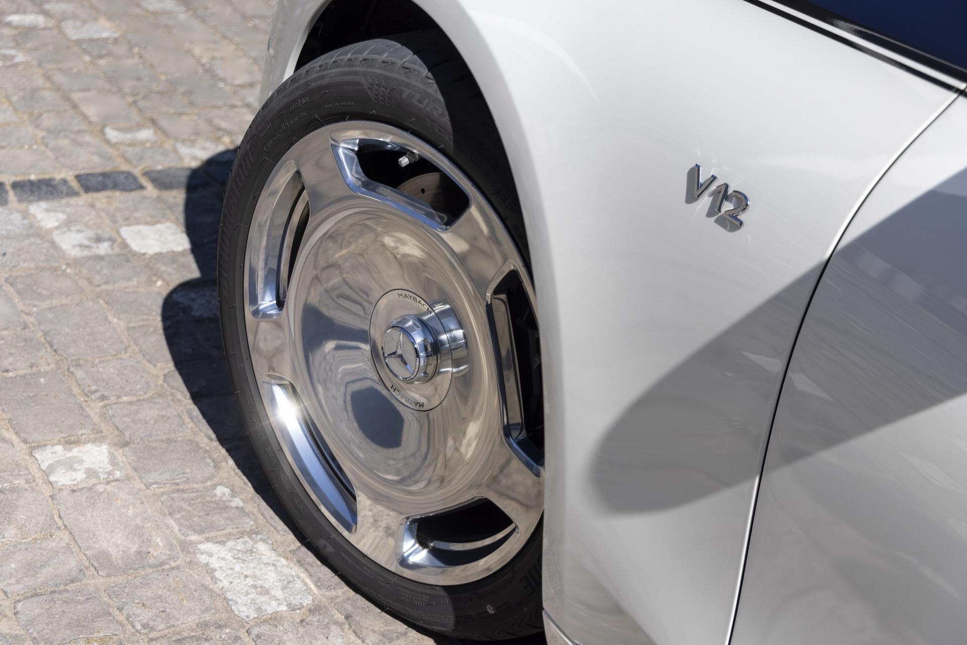 Mercedes-Maybach S-Class 2021 ra mat chau Au anh 10