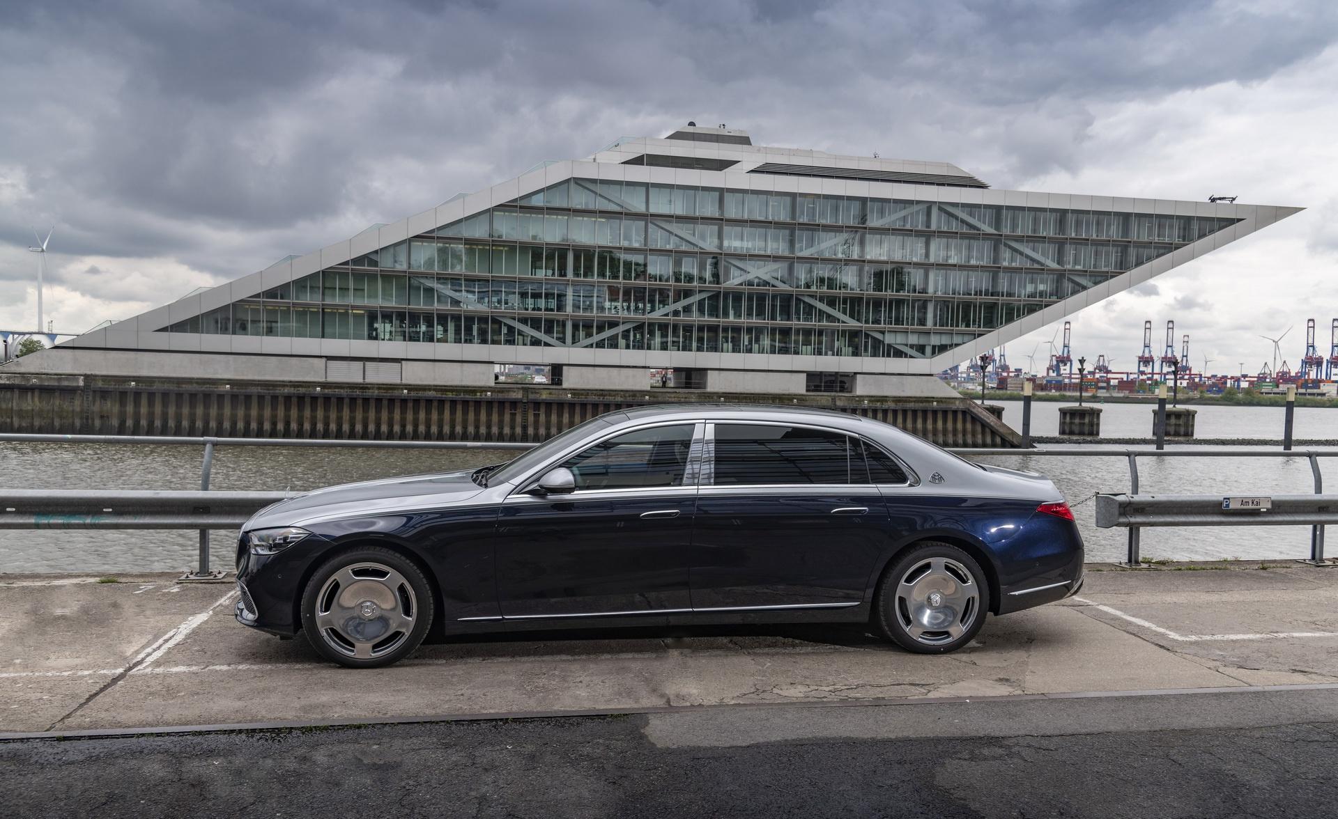 Mercedes-Maybach S-Class 2021 ra mat chau Au anh 2