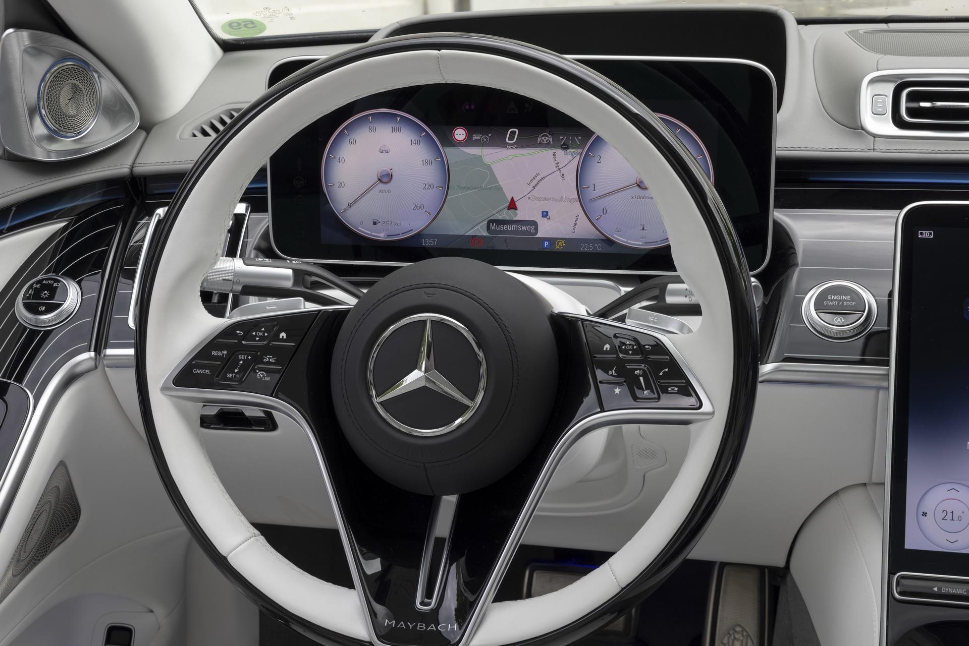 Mercedes-Maybach S-Class 2021 ra mat chau Au anh 9