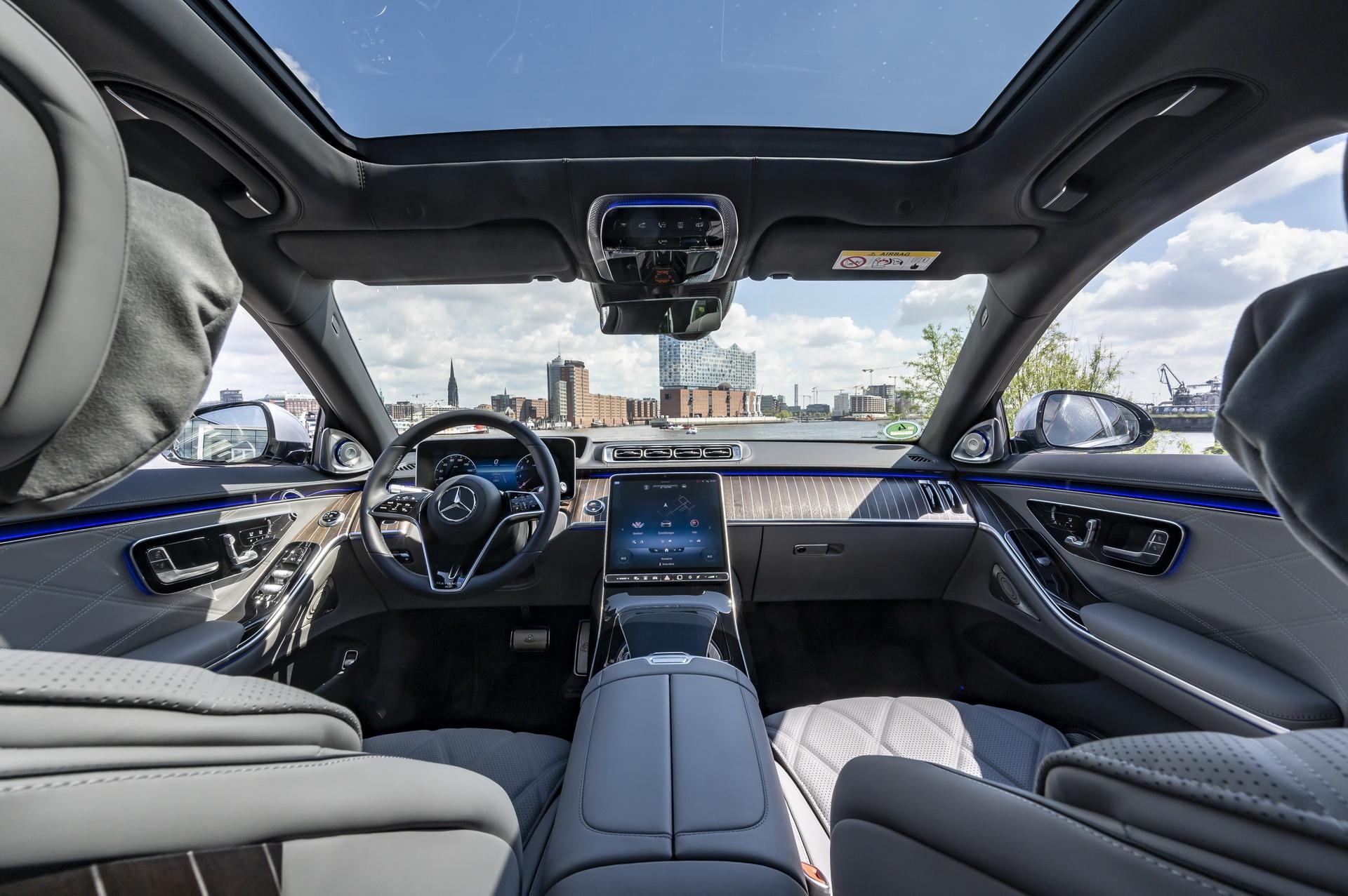 Mercedes-Maybach S-Class 2021 ra mat chau Au anh 8