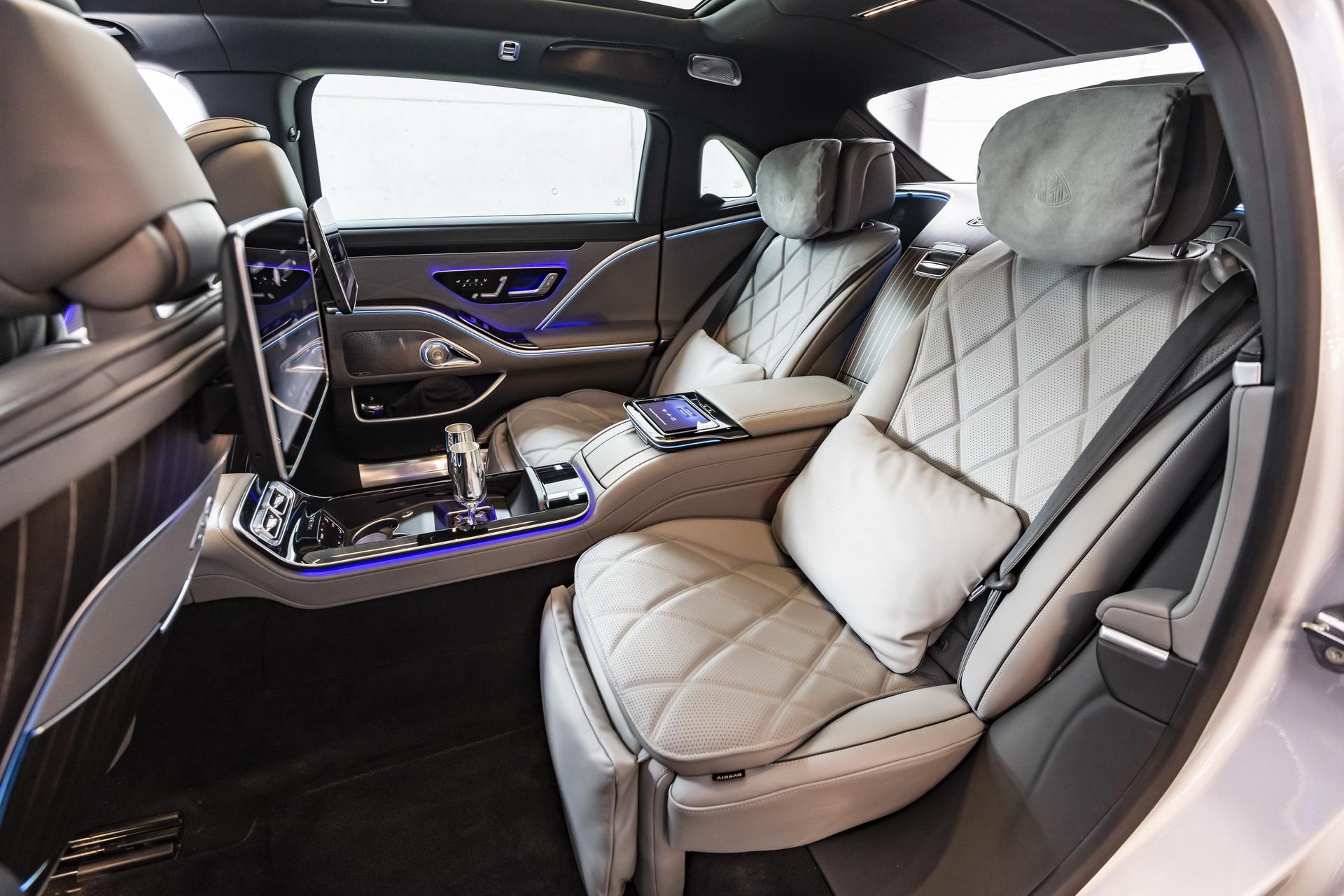 Mercedes-Maybach S-Class 2021 ra mat chau Au anh 6