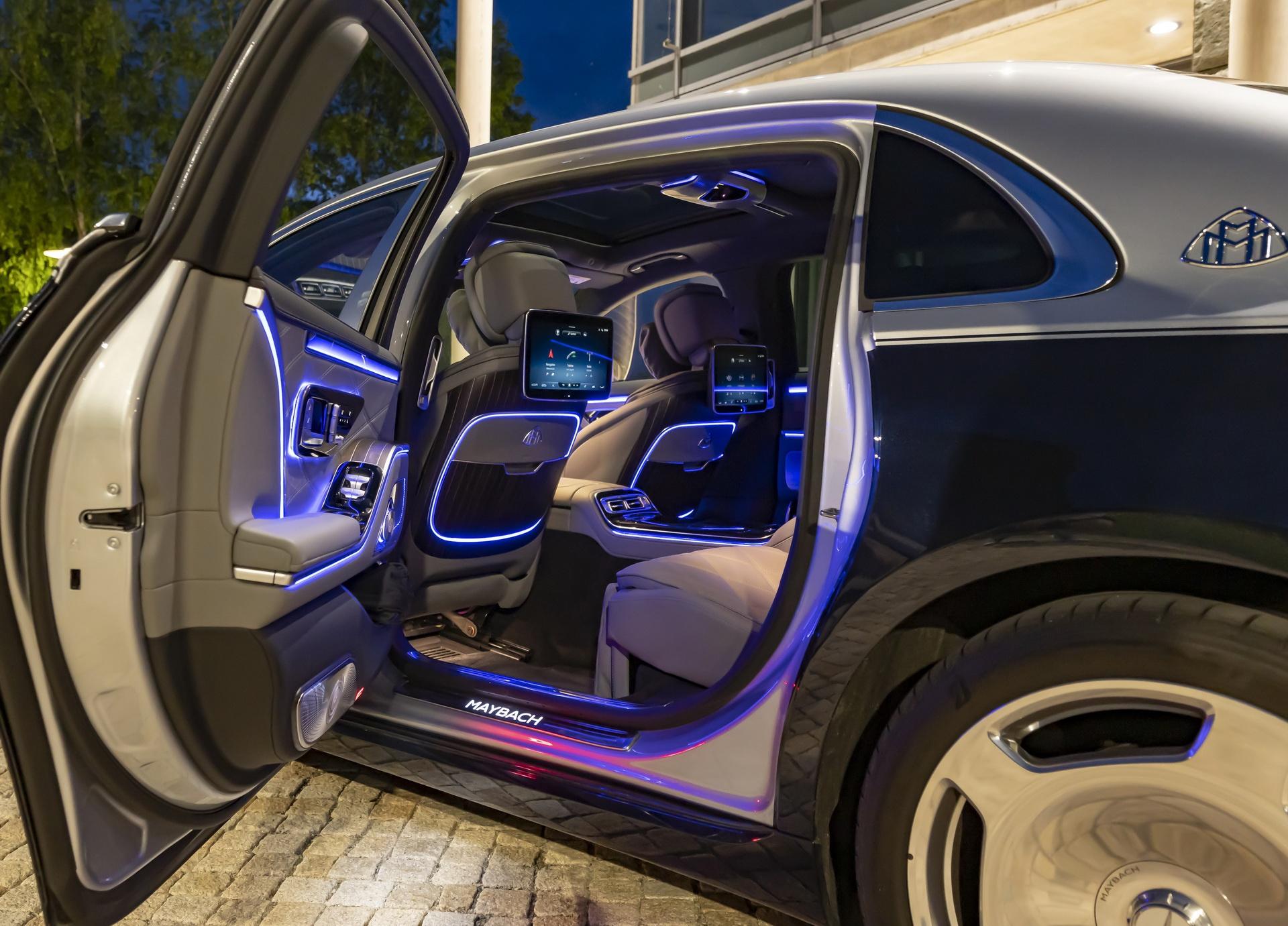 Mercedes-Maybach S-Class 2021 ra mat chau Au anh 5