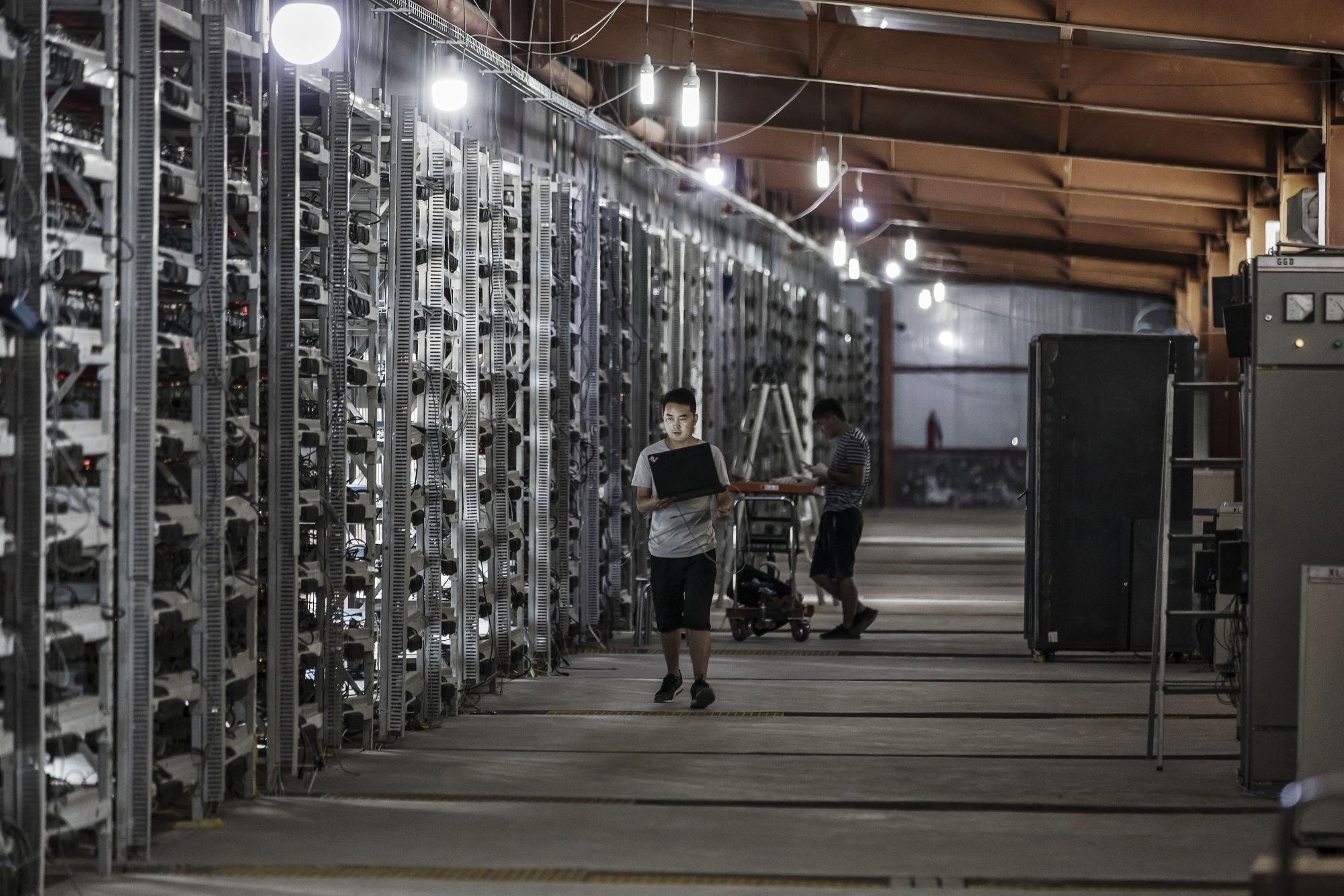 may dao bitcoin asic anh 3