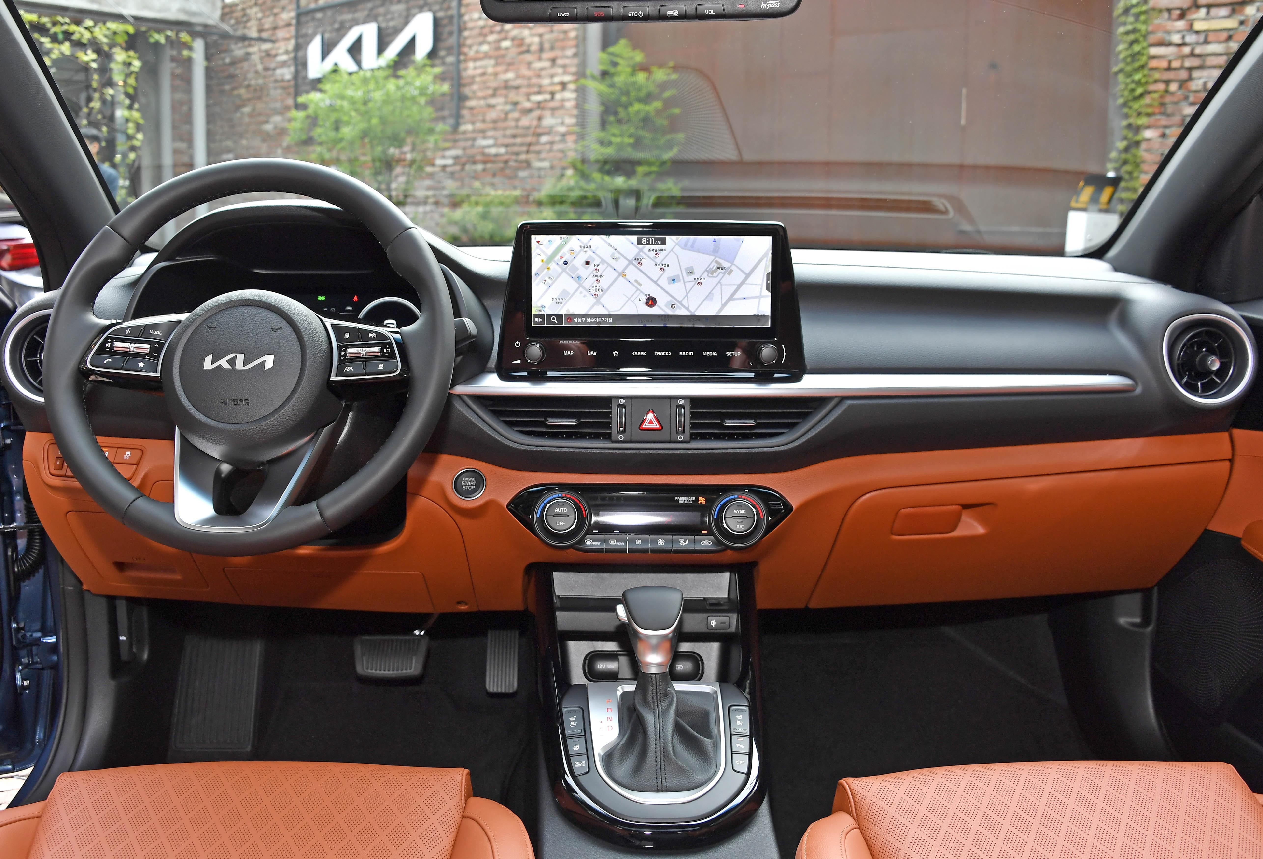 Kia Cerato facelift 2021 chinh thuc ra mat anh 6