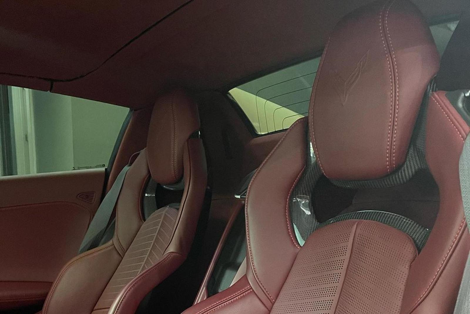 Chevrolet Corvette C8 Stingray cua sao NBA anh 4
