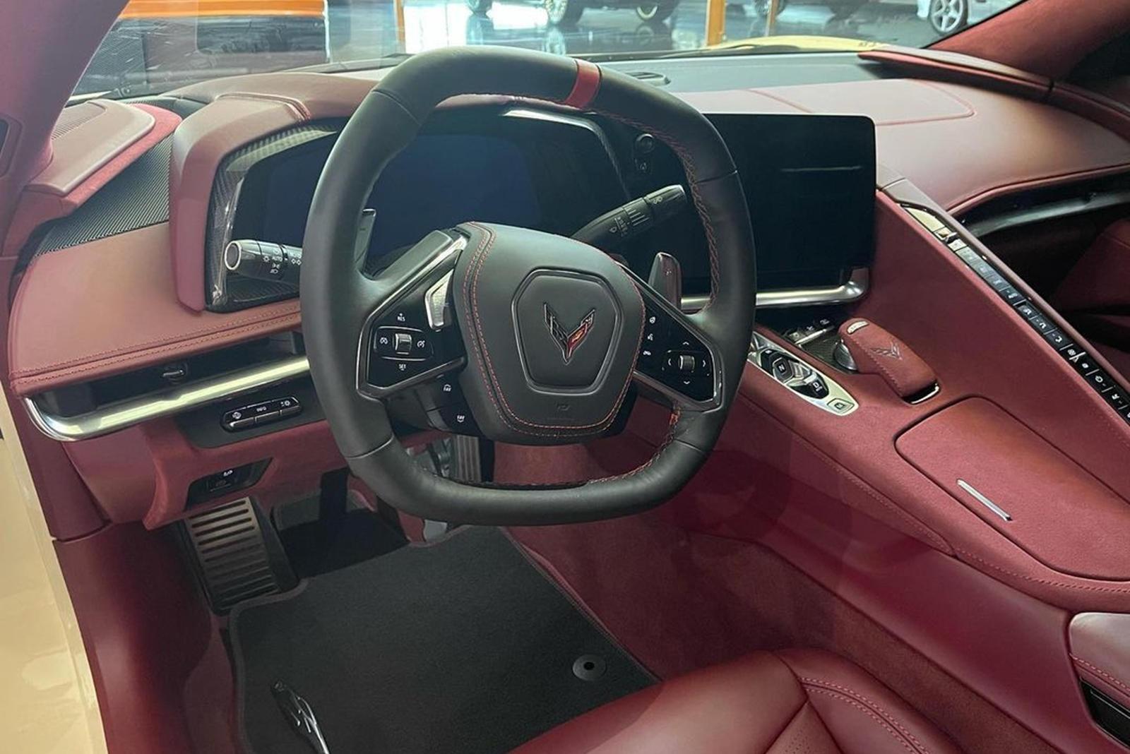 Chevrolet Corvette C8 Stingray cua sao NBA anh 5