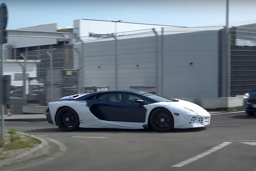 Lamborghini Aventador hybrid duoc thu nghiem anh 2