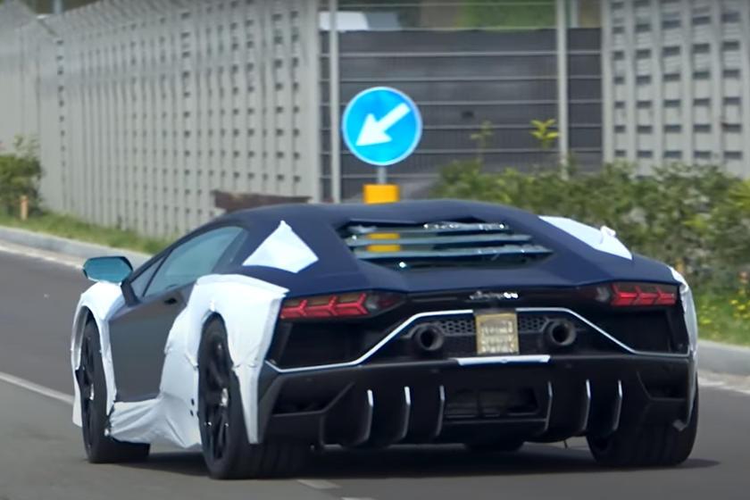 Lamborghini Aventador hybrid duoc thu nghiem anh 3