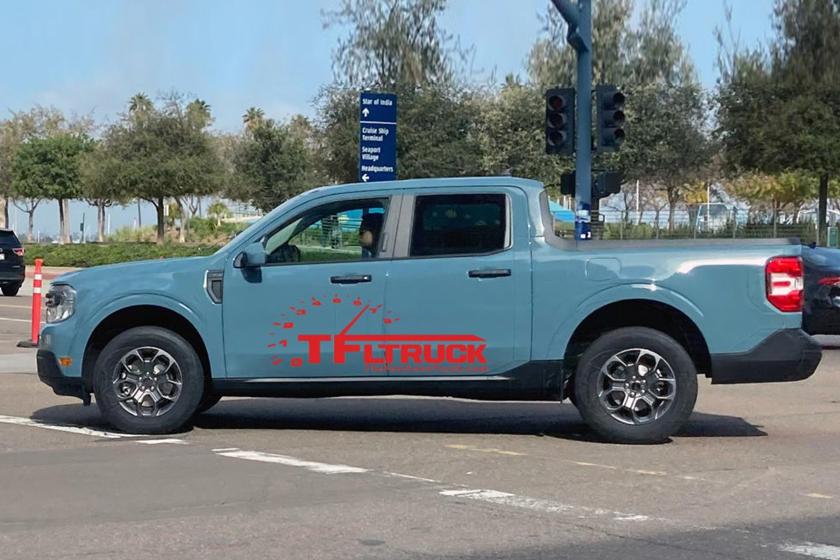 Ford cho ra mat ban tai nho hon Ranger, canh tranh Hyundai Santa Cruz anh 3