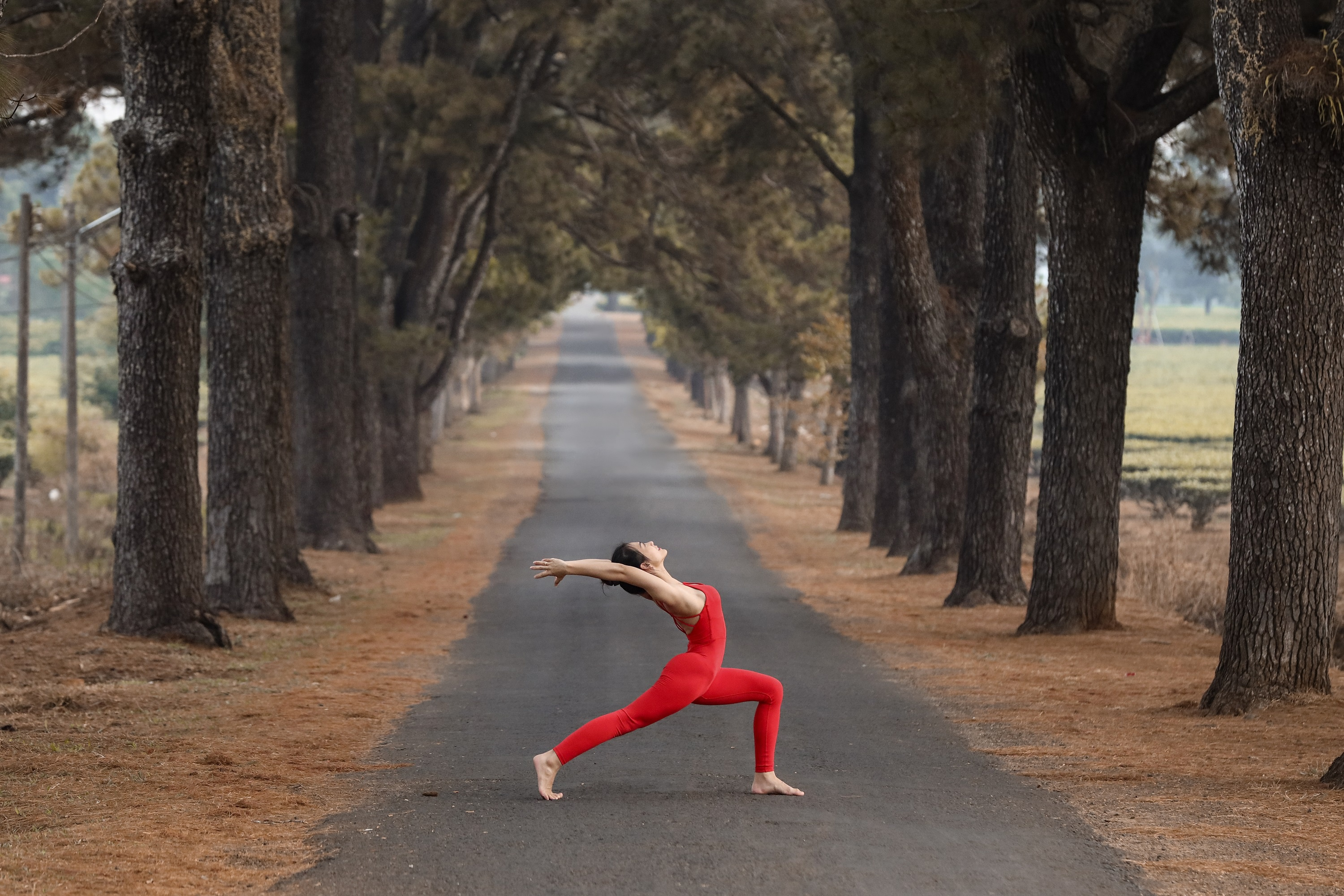 co gai tap yoga anh 1