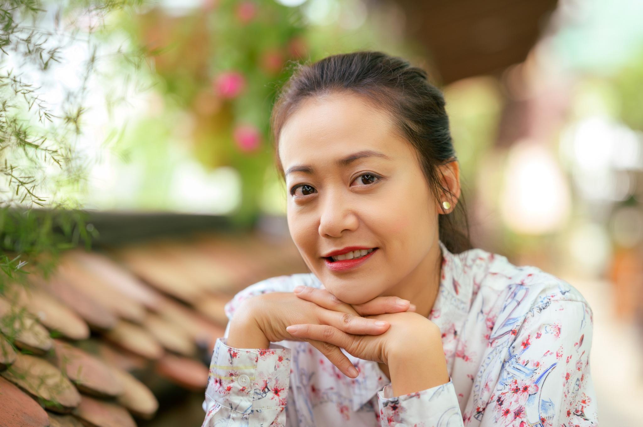 Hong Anh chua sinh con sau 10 nam cuoi anh 1