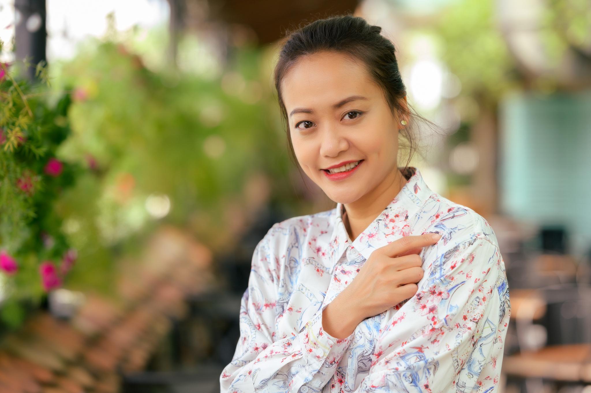 Hong Anh chua sinh con sau 10 nam cuoi anh 2