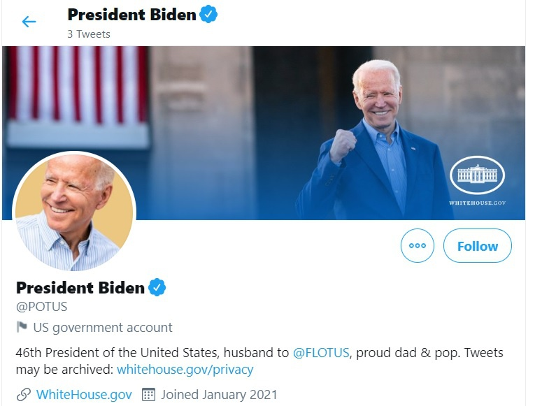 Joe Biden dang gi tren Twitter anh 2